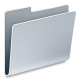 Closed file folder