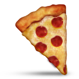 Slice of pepperoni pizza