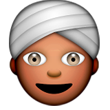 Man wearing turban, indian