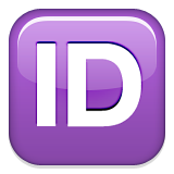 Capital letters ID