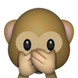 Speak no evil monkey
